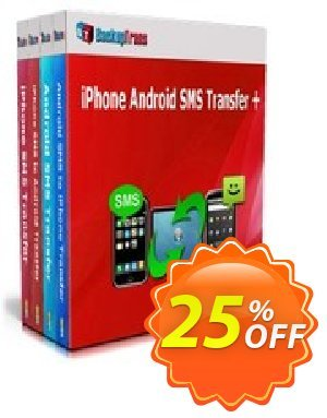Backuptrans iPhone Android SMS Transfer + (Business Edition) discount coupon Holiday Deals - best promo code of Backuptrans iPhone Android SMS Transfer + (Business Edition) 2020