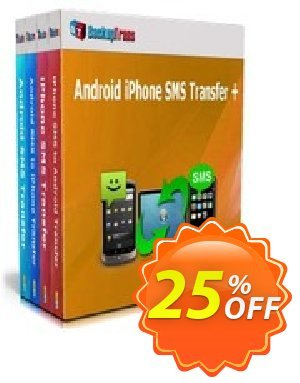 Backuptrans Android iPhone SMS Transfer + (Family Edition) 優惠券,折扣碼 Holiday Deals,促銷代碼: awesome offer code of Backuptrans Android iPhone SMS Transfer + (Family Edition) 2020