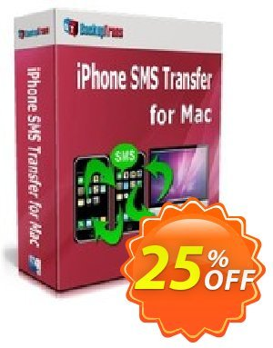Backuptrans iPhone SMS Transfer for Mac (Personal Edition) Coupon discount Backuptrans iPhone SMS Transfer for Mac (Personal Edition) formidable discount code 2020 - impressive offer code of Backuptrans iPhone SMS Transfer for Mac (Personal Edition) 2020