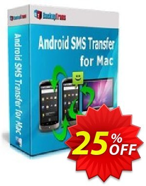 Backuptrans Android SMS Transfer for Mac discount coupon Backuptrans Android SMS Transfer for Mac (Personal Edition) big sales code 2021 - best promotions code of Backuptrans Android SMS Transfer for Mac (Personal Edition) 2021