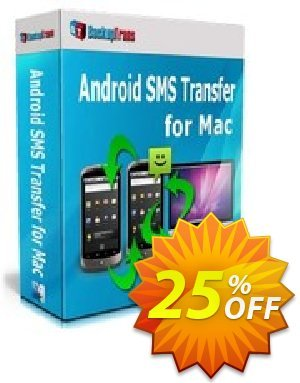 Backuptrans Android SMS Transfer for Mac (Family Edition) Coupon discount Backuptrans Android SMS Transfer for Mac (Family Edition) special offer code 2020 - hottest deals code of Backuptrans Android SMS Transfer for Mac (Family Edition) 2020