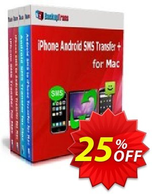 Backuptrans iPhone Android SMS Transfer + for Mac (Personal Edition) Coupon discount Holiday Deals - impressive promo code of Backuptrans iPhone Android SMS Transfer + for Mac (Personal Edition) 2019