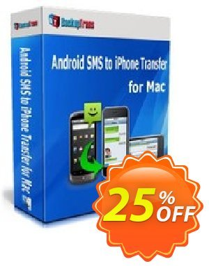 Backuptrans Android iPhone SMS Transfer + for Mac (Personal Edition) discount coupon Holiday Deals - marvelous offer code of Backuptrans Android iPhone SMS Transfer + for Mac (Personal Edition) 2020