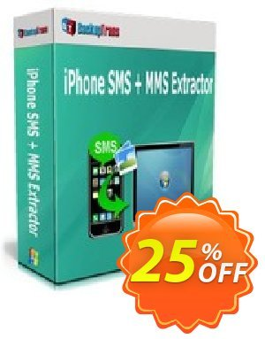 Backuptrans iPhone SMS + MMS Extractor (Family Edition) discount coupon Holiday Deals - imposing offer code of Backuptrans iPhone SMS + MMS Extractor (Family Edition) 2021