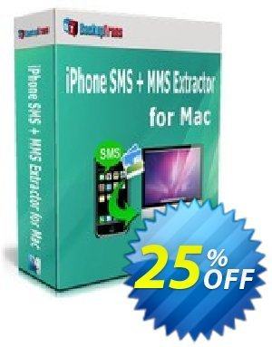 Backuptrans iPhone SMS + MMS Extractor for Mac discount coupon Holiday Deals - impressive promo code of Backuptrans iPhone SMS + MMS Extractor for Mac (Personal Edition) 2020