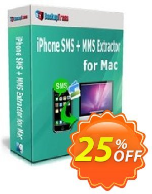 Backuptrans iPhone SMS + MMS Extractor for Mac (Family Edition) 프로모션 코드 Holiday Deals 프로모션: formidable discounts code of Backuptrans iPhone SMS + MMS Extractor for Mac (Family Edition) 2020