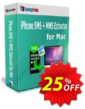 Backuptrans iPhone SMS + MMS Extractor for Mac (Business Edition) discount coupon Holiday Deals - fearsome promotions code of Backuptrans iPhone SMS + MMS Extractor for Mac (Business Edition) 2020