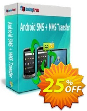 Backuptrans Android SMS + MMS Transfer (Business Edition) discount coupon Holiday Deals - excellent deals code of Backuptrans Android SMS + MMS Transfer (Business Edition) 2020