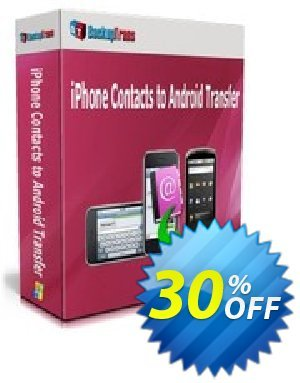 Backuptrans iPhone Contacts to Android Transfer (Personal Edition) discount coupon Backuptrans iPhone Contacts to Android Transfer (Personal Edition) awful deals code 2020 - wondrous sales code of Backuptrans iPhone Contacts to Android Transfer (Personal Edition) 2020