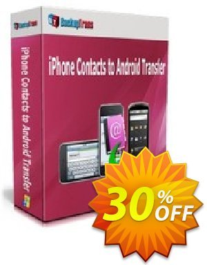 Backuptrans iPhone Contacts to Android Transfer (One-Time Usage) discount coupon Backuptrans iPhone Contacts to Android Transfer (One-Time Usage) super promo code 2020 - amazing discount code of Backuptrans iPhone Contacts to Android Transfer (One-Time Usage) 2020