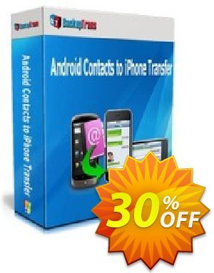 Backuptrans Android Contacts to iPhone Transfer discount coupon Backuptrans Android Contacts to iPhone Transfer (Personal Edition) best discounts code 2020 - super promo code of Backuptrans Android Contacts to iPhone Transfer (Personal Edition) 2020