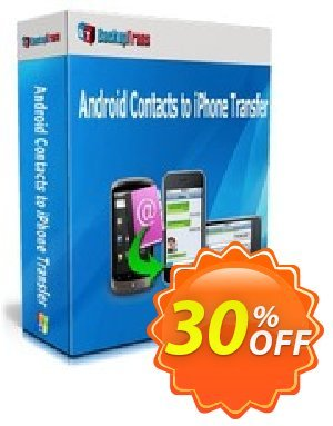 Backuptrans Android Contacts to iPhone Transfer (Family Edition) Coupon discount Backuptrans Android Contacts to iPhone Transfer (Family Edition) big promotions code 2019 - best discounts code of Backuptrans Android Contacts to iPhone Transfer (Family Edition) 2019