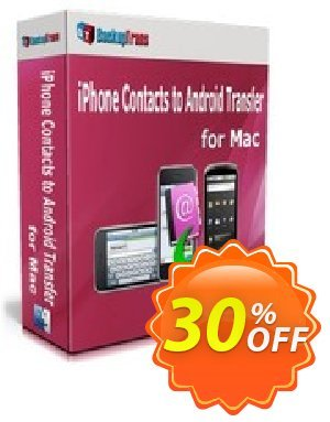 Backuptrans iPhone Contacts to Android Transfer for Mac (Personal Edition) discount coupon Backuptrans iPhone Contacts to Android Transfer for Mac (Personal Edition) exclusive offer code 2020 - special deals code of Backuptrans iPhone Contacts to Android Transfer for Mac (Personal Edition) 2020