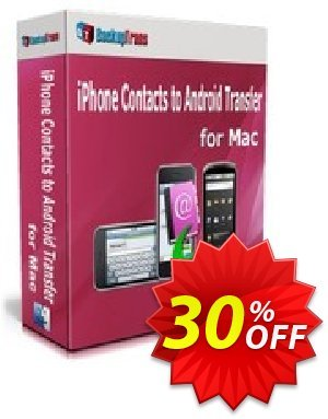 Backuptrans iPhone Contacts to Android Transfer for Mac (Business Edition) discount coupon Backuptrans iPhone Contacts to Android Transfer for Mac (Business Edition) wonderful promo code 2020 - awesome discount code of Backuptrans iPhone Contacts to Android Transfer for Mac (Business Edition) 2020