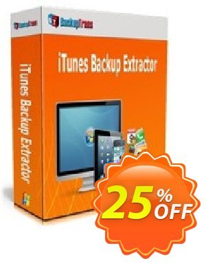 Backuptrans iTunes Backup Extractor discount coupon Backuptrans iTunes Backup Extractor (Personal Edition) awesome promotions code 2020 - exclusive discounts code of Backuptrans iTunes Backup Extractor (Personal Edition) 2020