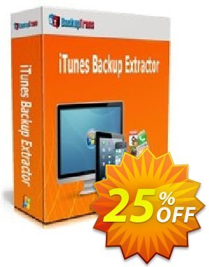 Backuptrans iTunes Backup Extractor (Family Edition) discount coupon Backuptrans iTunes Backup Extractor (Family Edition) wonderful sales code 2020 - awesome promotions code of Backuptrans iTunes Backup Extractor (Family Edition) 2020