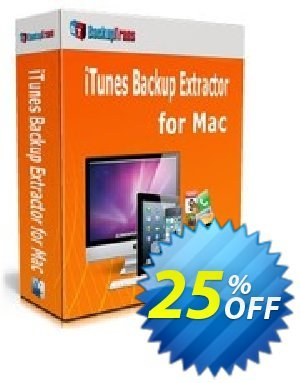 Backuptrans iTunes Backup Extractor for Mac (Family Edition) discount coupon Backuptrans iTunes Backup Extractor for Mac (Family Edition) staggering discount code 2020 - stunning offer code of Backuptrans iTunes Backup Extractor for Mac (Family Edition) 2020