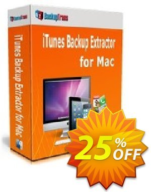 Backuptrans iTunes Backup Extractor for Mac (Business Edition) discount coupon Backuptrans iTunes Backup Extractor for Mac (Business Edition) imposing promo code 2020 - staggering discount code of Backuptrans iTunes Backup Extractor for Mac (Business Edition) 2020
