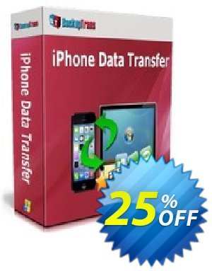 Backuptrans iPhone Data Transfer discount coupon Backuptrans iPhone Data Transfer (Personal Edition) amazing discount code 2021 - wonderful offer code of Backuptrans iPhone Data Transfer (Personal Edition) 2021