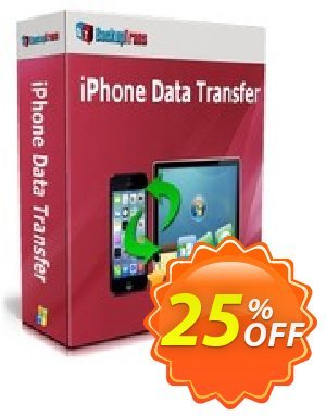 Backuptrans iPhone Data Transfer (Business Edition) 優惠券,折扣碼 Backuptrans iPhone Data Transfer (Business Edition) staggering discounts code 2020,促銷代碼: stunning promo code of Backuptrans iPhone Data Transfer (Business Edition) 2020