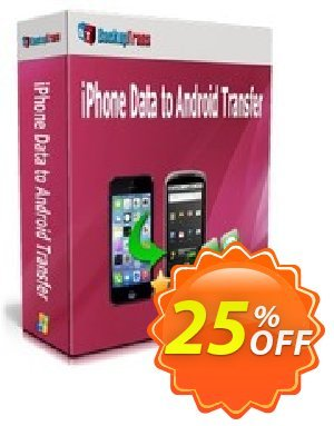 Backuptrans iPhone Data to Android Transfer (Business Edition) discount coupon Backuptrans iPhone Data to Android Transfer (Business Edition) marvelous promotions code 2021 - excellent discounts code of Backuptrans iPhone Data to Android Transfer (Business Edition) 2021