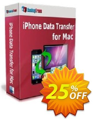 Backuptrans iPhone Data Transfer for Mac (Business Edition) discount coupon Backuptrans iPhone Data Transfer for Mac (Business Edition) special deals code 2021 - hottest sales code of Backuptrans iPhone Data Transfer for Mac (Business Edition) 2021