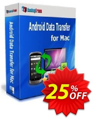 Backuptrans Android Data Transfer for Mac (Personal Edition) Coupon discount Backuptrans Android Data Transfer for Mac (Personal Edition) exclusive offer code 2020 - special deals code of Backuptrans Android Data Transfer for Mac (Personal Edition) 2020