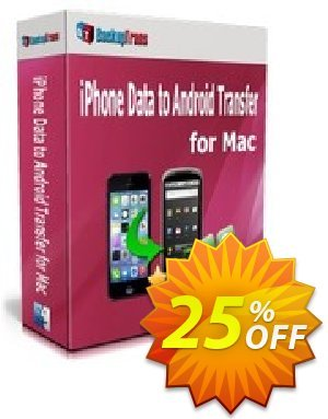 Backuptrans iPhone Data to Android Transfer for Mac (Family Edition) 優惠券,折扣碼 Backuptrans iPhone Data to Android Transfer for Mac (Family Edition) stunning promotions code 2020,促銷代碼: amazing discounts code of Backuptrans iPhone Data to Android Transfer for Mac (Family Edition) 2020