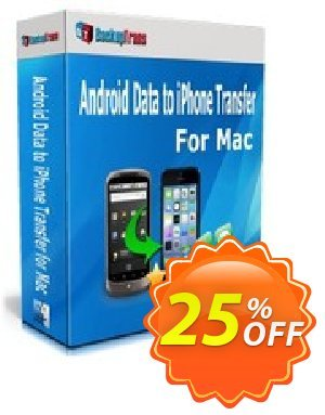 Backuptrans Android Data to iPhone Transfer for Mac discount coupon Backuptrans Android Data to iPhone Transfer for Mac (Personal Edition) imposing deals code 2020 - staggering sales code of Backuptrans Android Data to iPhone Transfer for Mac (Personal Edition) 2020