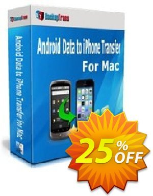 Backuptrans Android Data to iPhone Transfer for Mac (Family Edition) 프로모션 코드 Backuptrans Android Data to iPhone Transfer for Mac (Family Edition) stirring offer code 2020 프로모션: imposing deals code of Backuptrans Android Data to iPhone Transfer for Mac (Family Edition) 2020