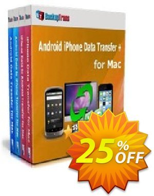 Backuptrans Android iPhone Data Transfer + for Mac (Family Edition) discount coupon Holiday Deals - formidable promo code of Backuptrans Android iPhone Data Transfer + for Mac (Family Edition) 2020