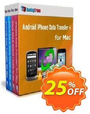 Backuptrans Android iPhone Data Transfer + for Mac (Business Edition) 優惠券,折扣碼 Holiday Deals,促銷代碼: fearsome discounts code of Backuptrans Android iPhone Data Transfer + for Mac (Business Edition) 2020