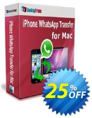 Backuptrans iPhone WhatsApp Transfer for Mac (Family Edition) Coupon discount Backuptrans iPhone WhatsApp Transfer for Mac (Family Edition) super promo code 2020 - amazing discount code of Backuptrans iPhone WhatsApp Transfer for Mac (Family Edition) 2020