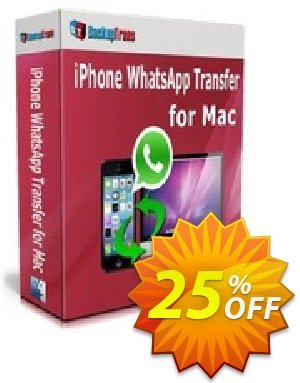 Backuptrans iPhone WhatsApp Transfer for Mac (Business Edition) Coupon discount Backuptrans iPhone WhatsApp Transfer for Mac (Business Edition) best discounts code 2020 - super promo code of Backuptrans iPhone WhatsApp Transfer for Mac (Business Edition) 2020
