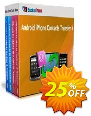 Backuptrans Android iPhone Contacts Transfer Coupon discount Holiday Deals - hottest sales code of Backuptrans Android iPhone Contacts Transfer + (Personal Edition) 2020