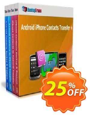 Backuptrans Android iPhone Contacts Transfer + (Business Edition) discount coupon Holiday Deals - exclusive offer code of Backuptrans Android iPhone Contacts Transfer + (Business Edition) 2020
