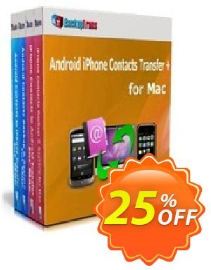 Backuptrans Android iPhone Contacts Transfer + for Mac (Business Edition) Coupon discount Holiday Deals - amazing discounts code of Backuptrans Android iPhone Contacts Transfer + for Mac (Business Edition) 2020
