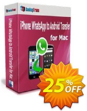 Backuptrans iPhone WhatsApp to Android Transfer for Mac(Family Edition) Coupon discount Backuptrans iPhone WhatsApp to Android Transfer for Mac(Family Edition) fearsome discounts code 2020 - formidable promo code of Backuptrans iPhone WhatsApp to Android Transfer for Mac(Family Edition) 2020