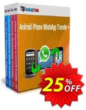 Backuptrans Android iPhone WhatsApp Transfer plus (Business Edition) Coupon discount Holiday Deals - marvelous deals code of Backuptrans Android iPhone WhatsApp Transfer +(Business Edition) 2020
