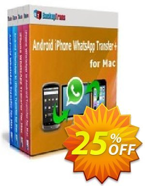 Backuptrans Android iPhone WhatsApp Transfer plus for Mac (Family Edition) Coupon discount Holiday Deals. Promotion: awful discount code of Backuptrans Android iPhone WhatsApp Transfer + for Mac(Family Edition) 2019