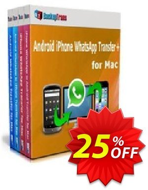 Backuptrans Android iPhone WhatsApp Transfer plus for Mac (Business Edition) discount coupon Holiday Deals - awful promo code of Backuptrans Android iPhone WhatsApp Transfer + for Mac(Business Edition) 2020