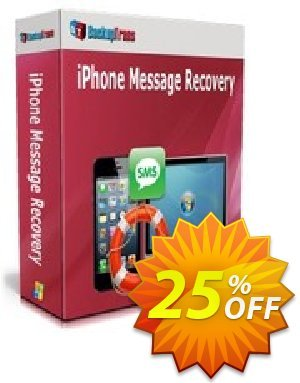 Backuptrans iPhone Message Recovery discount coupon Backuptrans iPhone Message Recovery (Personal Edition) exclusive promotions code 2021 - special discounts code of Backuptrans iPhone Message Recovery (Personal Edition) 2021