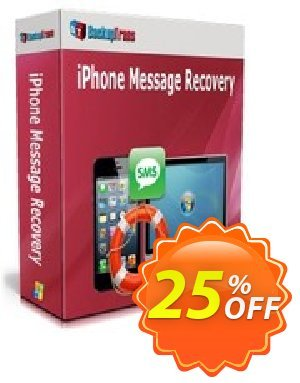 Backuptrans iPhone Message Recovery (Family Edition) discount coupon Backuptrans iPhone Message Recovery (Family Edition) awesome sales code 2021 - exclusive promotions code of Backuptrans iPhone Message Recovery (Family Edition) 2021