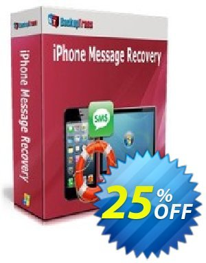 Backuptrans iPhone Message Recovery (Business Edition) discount coupon Backuptrans iPhone Message Recovery (Business Edition) wonderful deals code 2021 - awesome sales code of Backuptrans iPhone Message Recovery (Business Edition) 2021