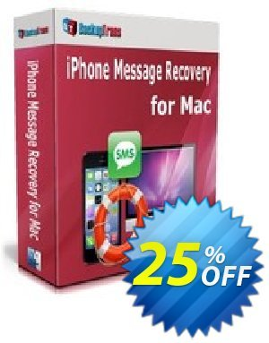Backuptrans iPhone Message Recovery for Mac (Personal Edition) Coupon discount Backuptrans iPhone Message Recovery for Mac (Personal Edition) amazing offer code 2020. Promotion: wonderful deals code of Backuptrans iPhone Message Recovery for Mac (Personal Edition) 2020