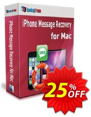 Backuptrans iPhone Message Recovery for Mac (Family Edition) discount coupon Backuptrans iPhone Message Recovery for Mac (Family Edition) stunning discount code 2021 - amazing offer code of Backuptrans iPhone Message Recovery for Mac (Family Edition) 2021