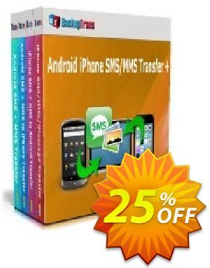 Backuptrans Android iPhone SMS/MMS Transfer plus discount coupon Holiday Deals - special discounts code of Backuptrans Android iPhone SMS/MMS Transfer + (Personal Edition) 2020