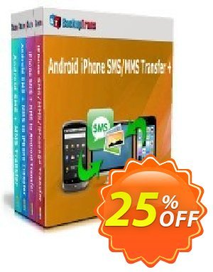 Backuptrans Android iPhone SMS/MMS Transfer plus (Family Edition) Coupon discount Holiday Deals. Promotion: marvelous discounts code of Backuptrans Android iPhone SMS/MMS Transfer + (Family Edition) 2020