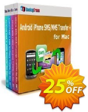 Backuptrans Android iPhone SMS/MMS Transfer plus for Mac discount coupon Holiday Deals - staggering promotions code of Backuptrans Android iPhone SMS/MMS Transfer + for Mac (Personal Edition) 2020