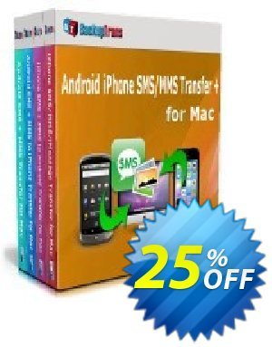 Backuptrans Android iPhone SMS/MMS Transfer + for Mac (Family Edition) Coupon discount Holiday Deals - imposing sales code of Backuptrans Android iPhone SMS/MMS Transfer + for Mac (Family Edition) 2019